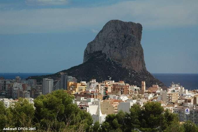 Andalusië Spanje calpe