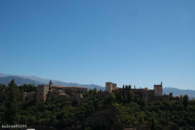 Andalusië Spanje alhambra